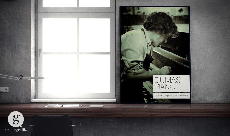 Poster des Pianos du Vexin | agencegrafik.