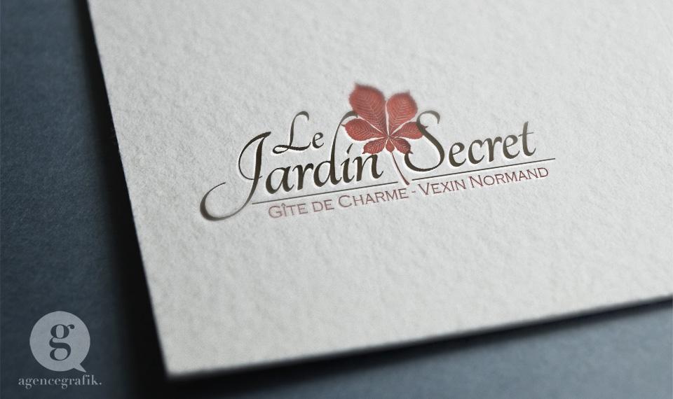 Le Jardin Secret | agencegrafik.