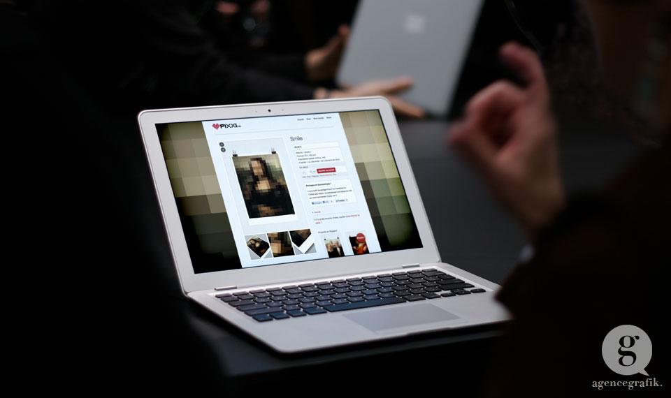 Boutique en ligne Pixxi | agencegrafik.