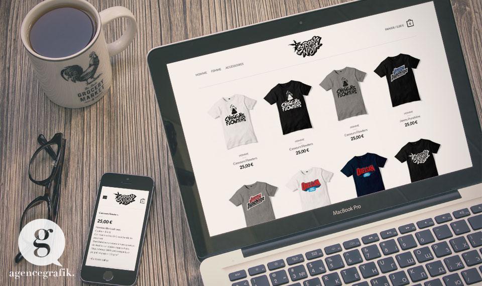 StrongNinja - Boutique en ligne de l