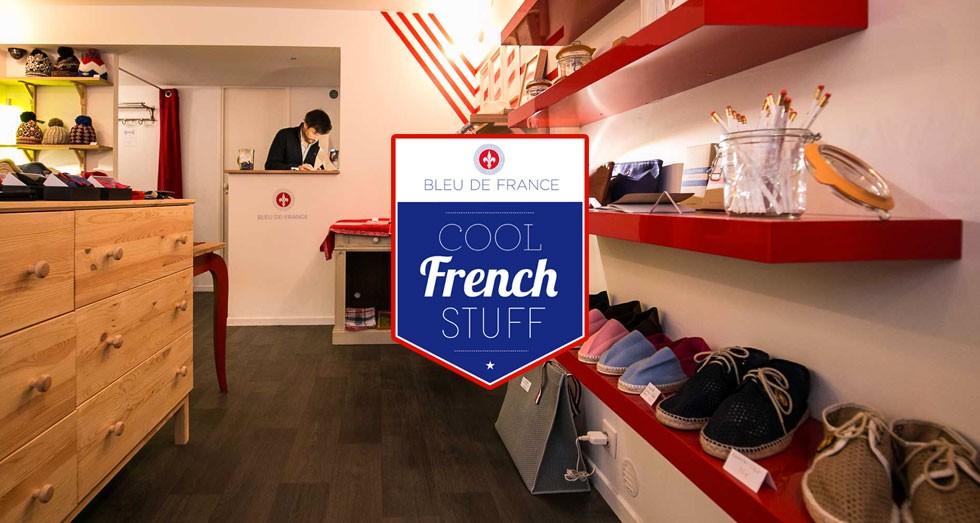 Concept Store Bleu de France | agencegrafik.